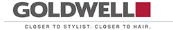 Logotyp Goldwell - finns på Salong Cheveux!