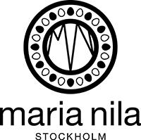 Logotyp Maria Nila - finns på Salong Cheveux!
