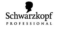 Logotyp Schwarzkopf - finns på Salong Cheveux!